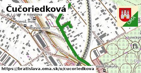 Čučoriedková, Bratislava