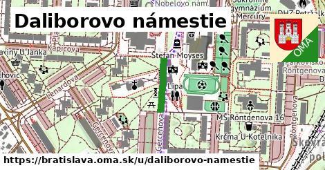 Daliborovo námestie, Bratislava