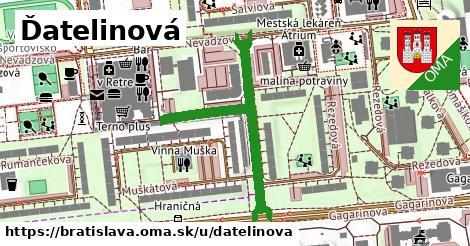 Ďatelinová, Bratislava