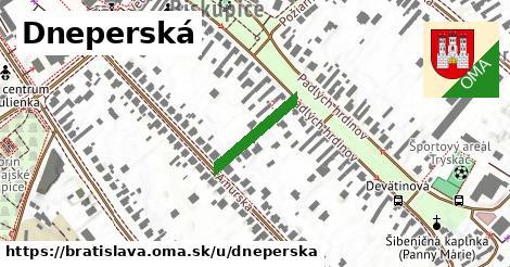 Dneperská, Bratislava