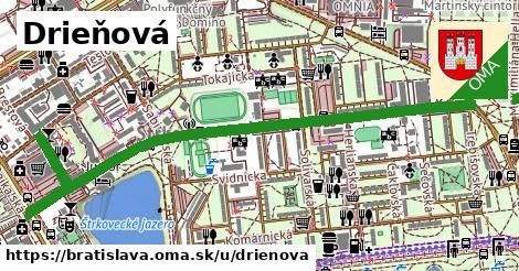 ilustrácia k Drieňová, Bratislava - 1,70km
