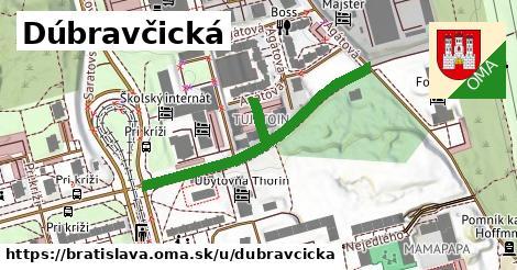 Dúbravčická, Bratislava