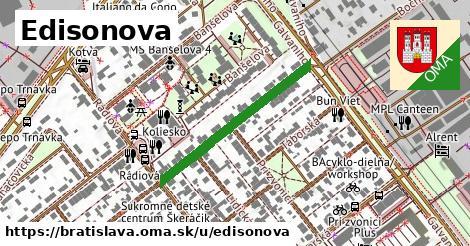 ilustrácia k Edisonova, Bratislava - 303m