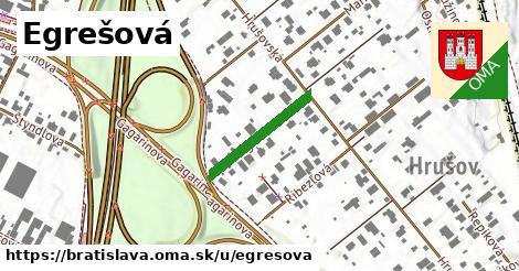 ilustrácia k Egrešová, Bratislava - 187m