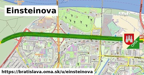 ilustrácia k Einsteinova, Bratislava - 5,8km