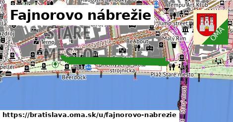Fajnorovo nábrežie, Bratislava
