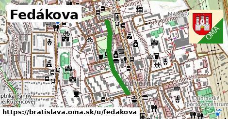 Fedákova, Bratislava