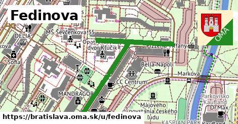 Fedinova, Bratislava