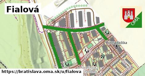 Fialová, Bratislava