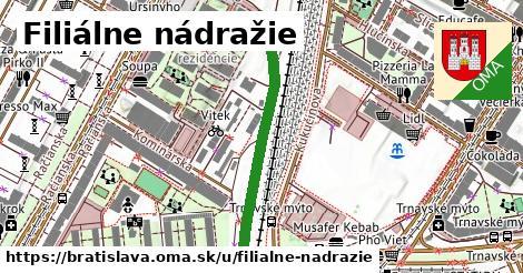 Filiálne nádražie, Bratislava