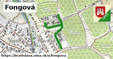 Fongová, Bratislava