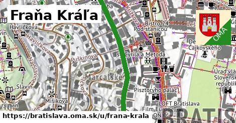 Fraňa Kráľa, Bratislava