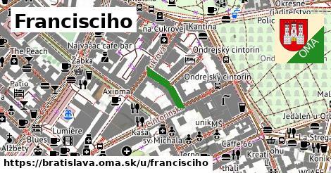 Francisciho, Bratislava