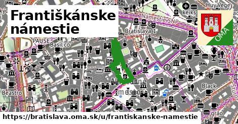 Františkánske námestie, Bratislava