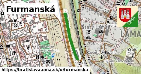 ilustrácia k Furmanská, Bratislava - 518m