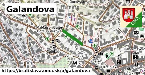 Galandova, Bratislava