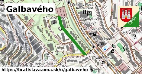 Galbavého, Bratislava