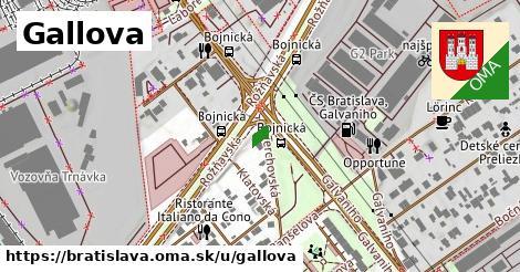 Gallova, Bratislava
