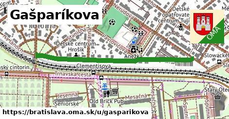 Gašparíkova, Bratislava