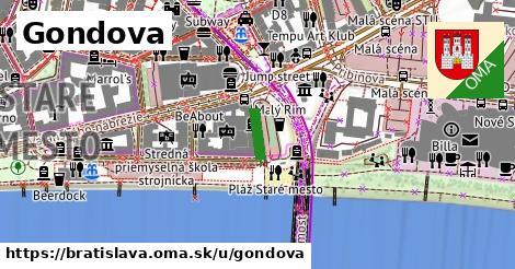 Gondova, Bratislava