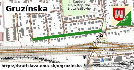 Gruzínska, Bratislava