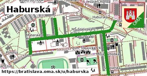 Haburská, Bratislava