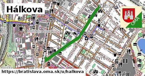 ilustrácia k Hálkova, Bratislava - 0,84km