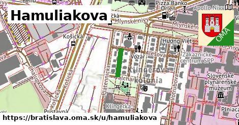 Hamuliakova, Bratislava