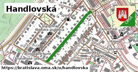 Handlovská, Bratislava