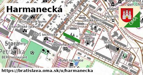 Harmanecká, Bratislava