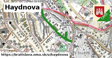 Haydnova, Bratislava