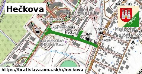 Hečkova, Bratislava