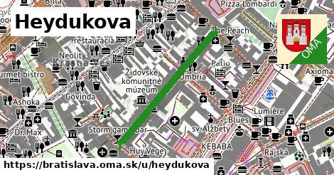 ilustrácia k Heydukova, Bratislava - 336m