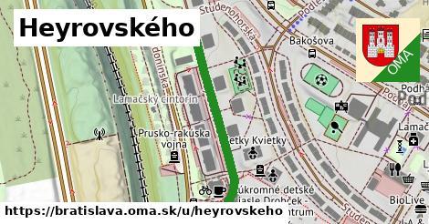 Heyrovského, Bratislava