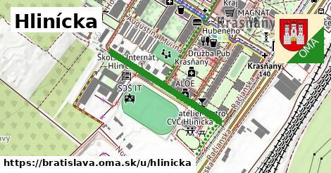 ilustrácia k Hlinícka, Bratislava - 296m