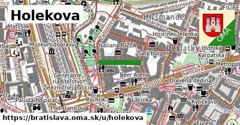 Holekova, Bratislava