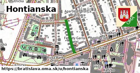 Hontianska, Bratislava
