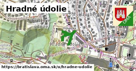 Hradné údolie, Bratislava