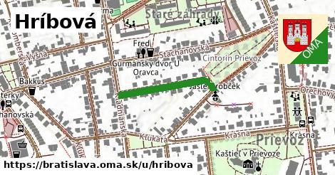 Hríbová, Bratislava