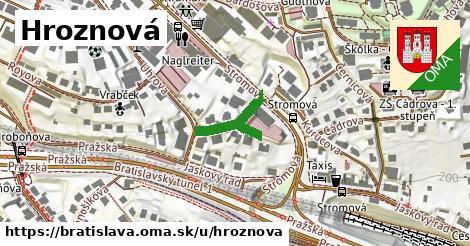 ilustrácia k Hroznová, Bratislava - 171m