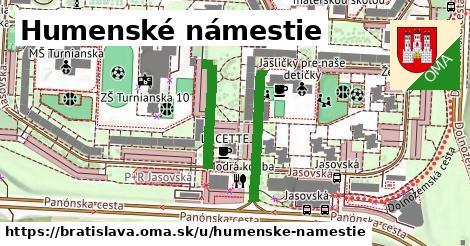 Humenské námestie, Bratislava