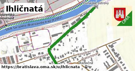 Ihličnatá, Bratislava