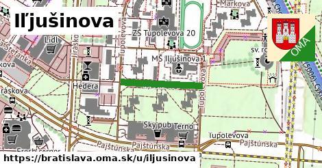 Iľjušinova, Bratislava