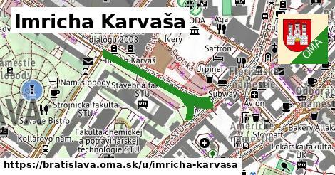 Imricha Karvaša, Bratislava