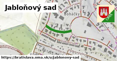Jabloňový sad, Bratislava
