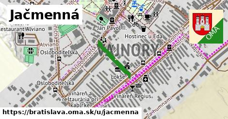 Jačmenná, Bratislava
