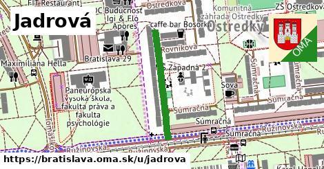 Jadrová, Bratislava