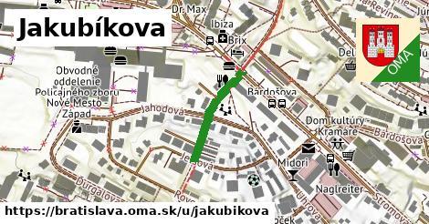 Jakubíkova, Bratislava
