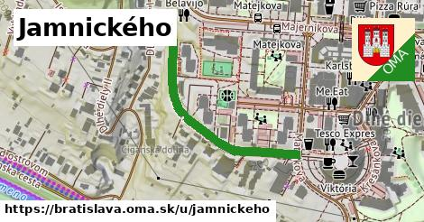 Jamnického, Bratislava