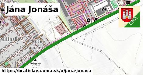 Jána Jonáša, Bratislava